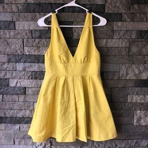 J. Crew Yellow Summer Dress